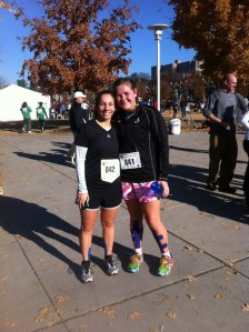 This is Ciera and me after our first 8k in November!